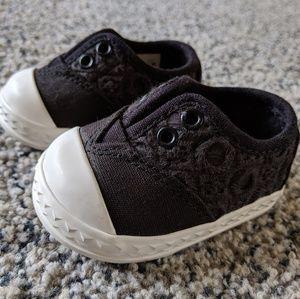 TOMS Black Eyelet Zuma Sneaker - Tiny 2
